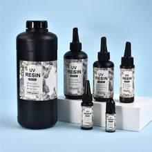速乾性のuv樹脂接着剤クリアハード樹脂接着剤diyオープンベゼル黒ペンダント作るエポキシ樹脂ジュエリー作る