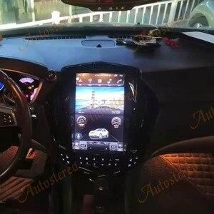 Image 3 - Para cadillac srx 2008 + android 10.0 tesla rádio estilo vertical unidade central de navegação gps do carro multimídia player rádio gravador fita