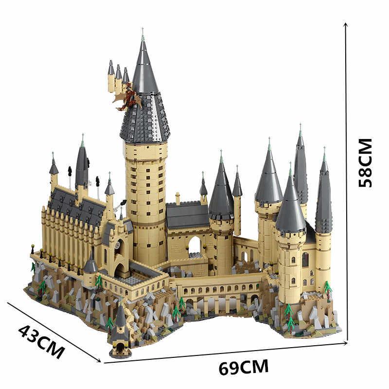 HarryS HogwarteS Magic Castle Cinderellaing Principessa building blocks Compatibile legoed 71043 71040 Mattoni amico Regalo Di Natale