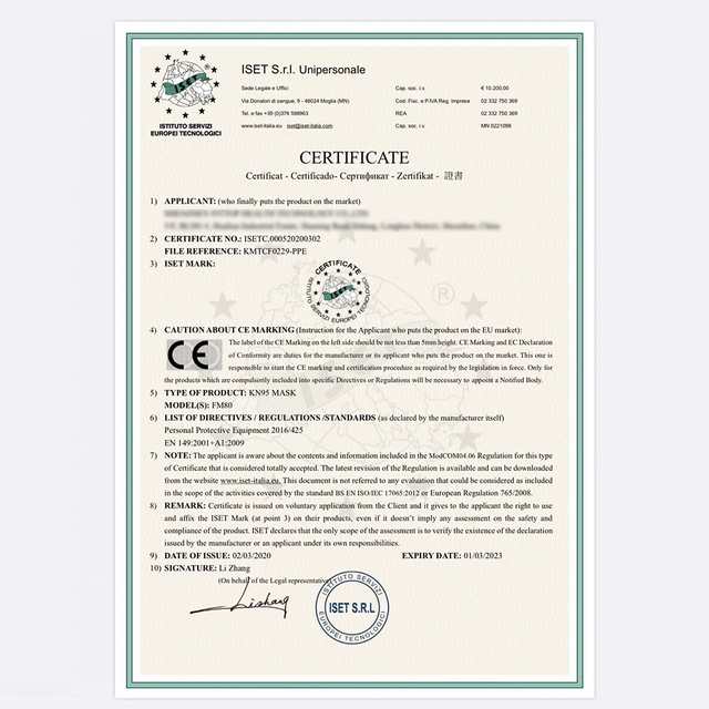 5 pcs KN95 Certificazione CE Viso Maschera N95 FFP3 Bocca Maschera Anti Forte di Protezione di FFP2 KF94 5