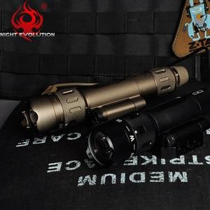 Image 2 - Night Evolution Tactical Flashlight WMX200 Red IR Light Rifle Fold Mount Hunting Lamp Gun Weapons Light NE08036