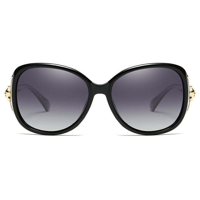 2020 Classic Womens Oversized Sunglasses Brand Designer Polarized Sunglasses Ladies Rhinestone Temple Shades Eyewear 2
