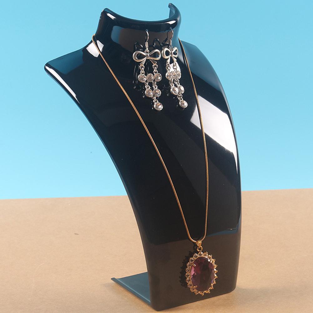Necklace Earrings Organizer Jewelry Display Stand Holder Shelf Rack Mannequin Chain Bracelets Woman Jewelry  Rack Storage Neckla