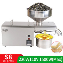 Oil-Press Oiler Olive-Oil Coco Stainless-Steel Extracting Peanut for Coco/Olive-oil/Oilpressure-tool