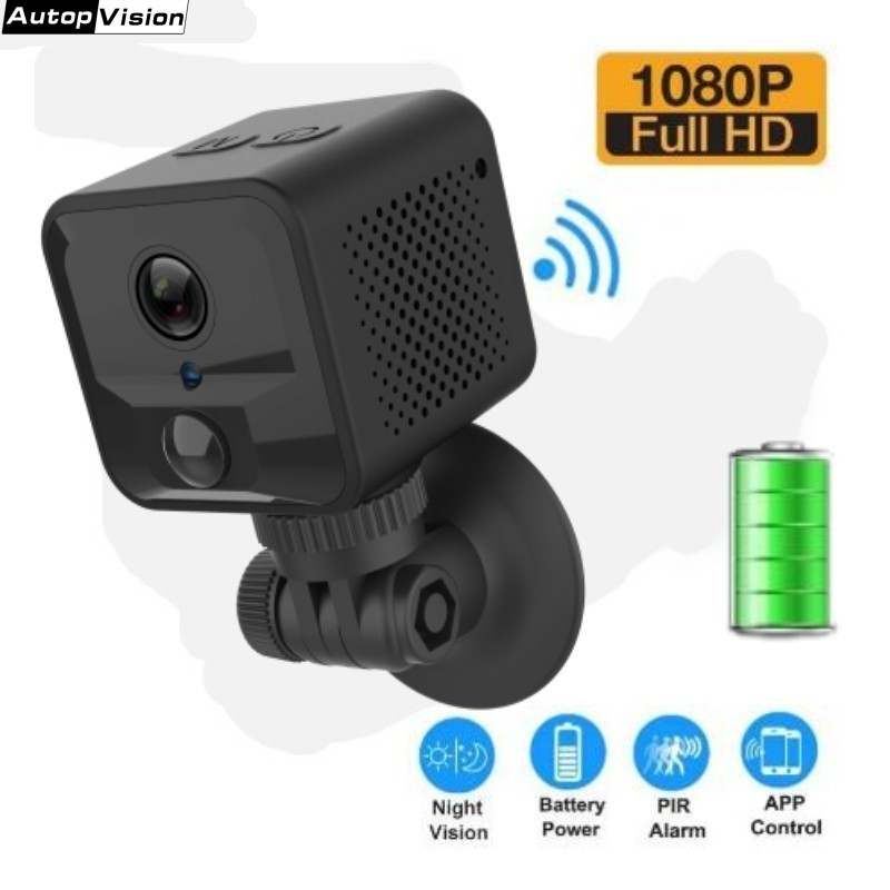 S9 Battery 1080P WiFi Camera Wireless Mini IP Camera With PIR Network P2P Connnect  Human Motion Detection Support Night Vision
