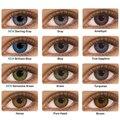 GoMaxiyGirl- 2 шт./пара (3 оттенка, переходящие плавно от темного к светлому) серии Цвет ed контактные линзы для глаз Цвет ed глазные линзы Цвет связат...
