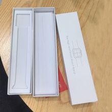 Paper Packaging Box Exquisite Original Simple Style For Apple Watch Band 38mm 42mm 44mm 40mm strap Gift Boxes Wholesale Retail naviforce brand original boxes men watch box wristwatch paper gift box