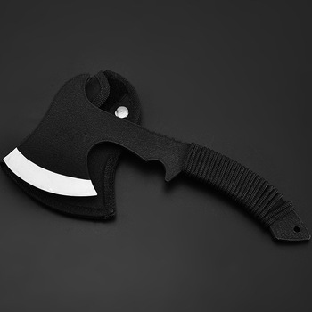 Camping Axe Sheath Fire Axe Survival Portable Hunting PU Leather Hiking Outdoor Camping Hatchet Blade Protection Tomahawk high quality sog tactical tomahawk army outdoor hunting camping survival machete axes hand tool fire axe hatchet tomahawk axe d