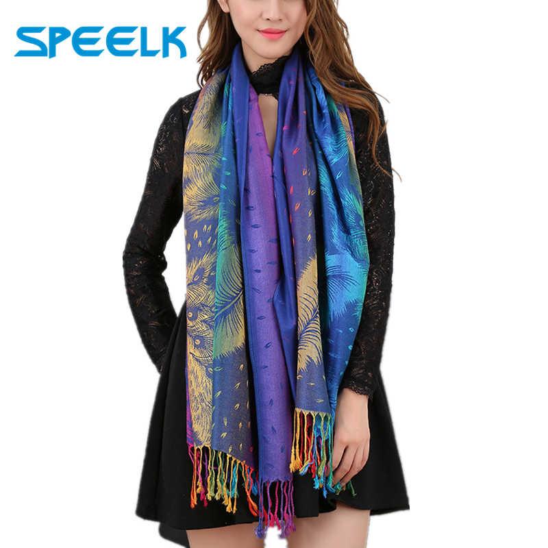 New Women Ladies Winter Warm Long Multi Colour Scarf Viscose Scarves Shawl Stole