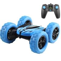 Hugine RC araba 2.4G 4CH dublör sürüklenme deformasyon Buggy araba kaya paletli rulo araba 360 derece çevirmek çocuklar Robot RC oyuncak arabalar hediyeler için|rc car toy|car rock crawlerrock crawler -
