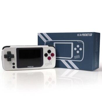 2.4 inch PocketGo Handheld Game Console 32G IPS Screen Retro Game player Classic NES/GB/GBC/PS1 Miyoo Gaming Players Consoles 8