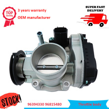 цены New Throttle Body Assembly 96394330 96815480 For Chevrolet Lacetti Optra J200 Daewoo Nubira Air Intake System Throttle Valve
