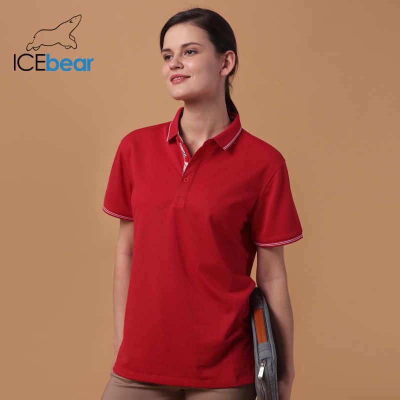 Icebear 2020 חדש קיץ סיבי פחמן חצי שרוול חולצה יוניסקס 1603