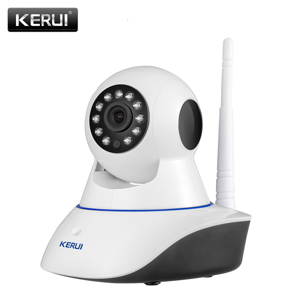 KERUI 720P HD Indoor Wireless Wifi Home Security Surveillance Ip Camera With Night Vision Infrared Network Internet Camera image