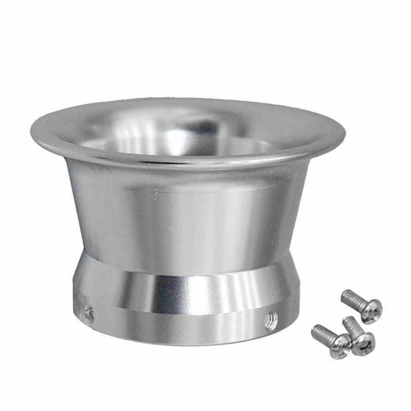 Karburator Air Filter Klakson Angin Cup Adalah Pengganti Yang Besar untuk Keihin Oko Satria Fu PWK24-30 Perak Aluminium Paduan Karburator