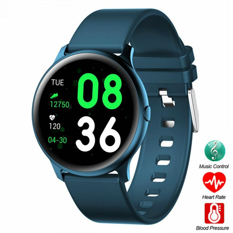 <font><b>KW19</b></font> <font><b>Smart</b></font> <font><b>watch</b></font> <font><b>Women</b></font> Heart rate monitor Men Sport Smartwatch Message reminder Fitness tracker For Android and IOS PK S226 P68 image