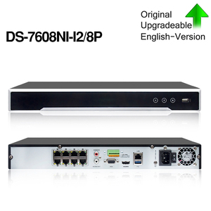Image 2 - Hikvision Originele Nvr DS 7608NI I2/8 P 8CH 8 Poe Nvr Voor Poe Camera 12MP Max 2 Sata Netwerk Video recorder.