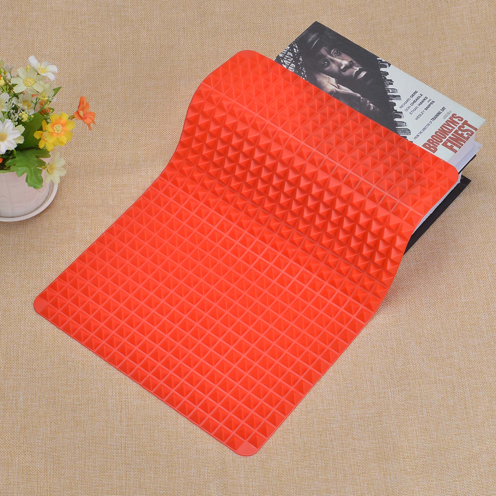 3 Colors Silicone Baking Mat In Non Toxic And High Temperature Resistance For Chocolate And Jelly Pudding 12