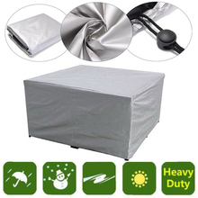 Furniture Cover Outdoor Furniture Dust Cover Waterproof Dustproof Patio Garden Table Protection Shield-Silver cheap Garden Furniture Cover Polyester Fabric