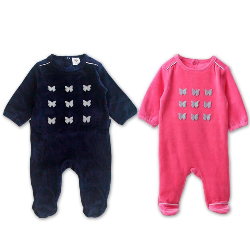 Baby Bodysuit Pyjamas  Long Sleeves Children Clothing Newborn Baby Girl Boys Overalls Children  Clothes Baby Romper
