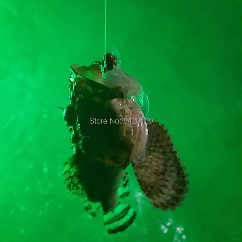 subaquática lâmpada de pesca lula pesca luz led peixe atraindo luz