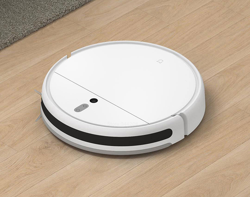 H003727ab300c4e2abdfbc9aef4bcaba5J XIAOMI MIJIA Mi Sweeping Mopping Robot Vacuum Cleaner 1C for Home Auto Dust Sterilize 2500PA cyclone Suction Smart Planned WIFI