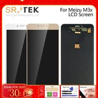 Original New 5.5For Meizu M3X LCD Display for Meilan X M682Q M3X LCD Touch Screen Pannel Digitizer Assembly M3X LCD Replacement