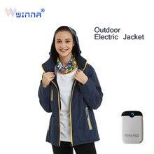 Men/Women Winter Thick USB Temperature Control Heating Jackets Waterproof Hiking Outdoor Windbreaker Jackets  skiing jacket