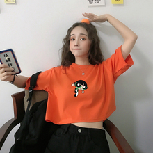 Crop Top Personalizes Birthday Age Cute Power Puff Girls Boys Girls Kids T Shirt Women High Quality Casual Printing Tee Shirt