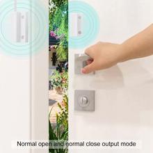 Проводной дверь окно датчик детектор магнитный магнитный переключатель для нашего закрытого GSM дома сигнализации системы обычно провод pstn NC R8D2