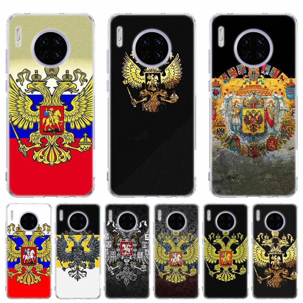シリコーンケース Coque huawei 社 Y5 Y6 Y7 Y9 プライム 2019 メイト 10 Lite 20 Lite 30 プロ 5 グラム電話シェルアルメニアアルバニアロシア旗 Emb