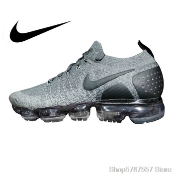 цена на Nike Vapormax Flyknit 2.0 Men's Running Shoes Breathable Sports Outdoor Sneakers Training New Arrival 942842-002