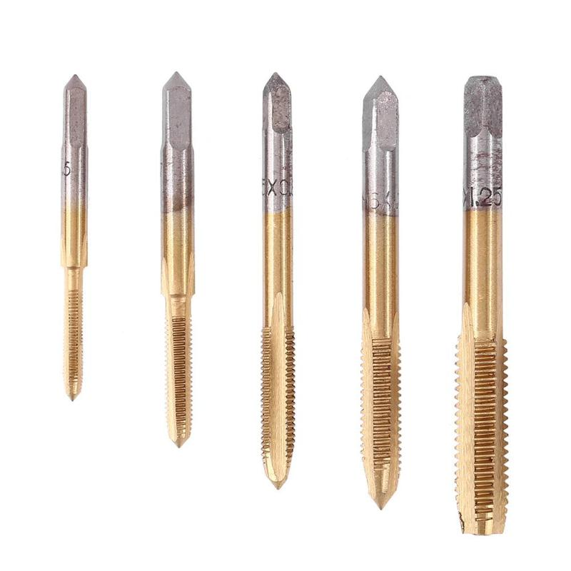 2 Pcs. High Speed Steel // Ground Thread Metric Hand Tap -Taper Size: 2.6MM Pitch:.45MM