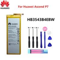 Batería de teléfono Original Hua Wei HB3543B4EBW para Huawei Ascend P7 L07 L09 L00 L10 L05 L11 2460mAh baterías de repuesto