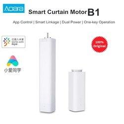 Смарт-штора Aqara B1, беспроводной штор с дистанционным управлением через приложение, умный моторизованный электродвигатель для умного дома