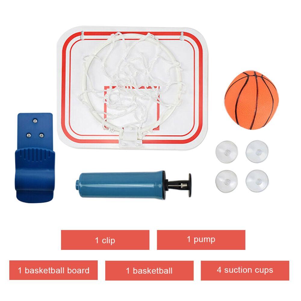 Забавный мини-пластиковый баскетбольный обруч, комплект игрушек для дома, для любителей баскетбола, спортивная игра, набор игрушек для дете...