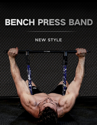 INNSTAR Bench Press Push Up gym equipment Resistance Band Removable Chest Builder Expander Home Workouts Fitness Travel rod