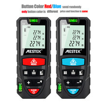 Mestek 50m medidor de distância a laser mini laser telêmetro trena fita medida medidor laser faixa localizador diastímetro measurer