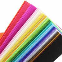 40 цветов 30 см полиэфирная Нетканая ткань для вышивки DIY ручной работы швейные изделия Feutrine Floth толщина 1 мм фетровая ткань