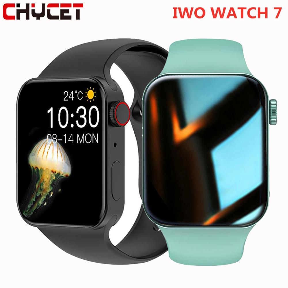CHYCET New IWO Smart Watch Series 7 Heart Rate Monitor 2021 Smartwatch...