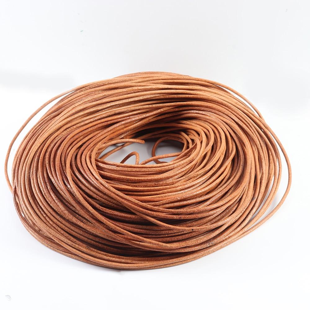 Шнур из 1/1 натуральной кожи для изготовления ювелирных изделий