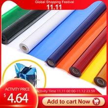 """Meking filtro de Color para iluminación de escenario, gel de papel profesional, 40x50cm, 15,7x19,6 """", luz roja"""
