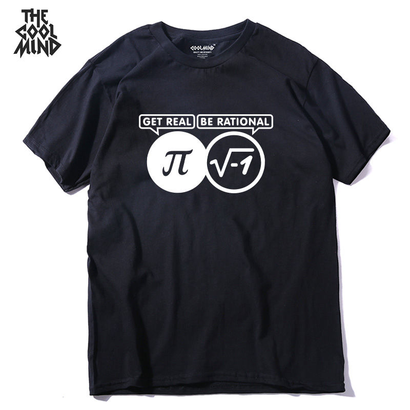 COOLMIND QI0219A 100% Cotton Fashion New Design O-neck Men T-shirt Casual Fashion Loose Funny Cool Men T Shirt Male Tshirt Tees