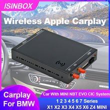 Wireless Apple CarPlay Interface Adapter For BMW Car With MINI NBT EVO CIC System Car Multimedia Interface CarPlay &Android Auto