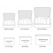 Hot Sale Travel Organizer Storage Bag Set Clothes Organizer Bags Pouch Suitcase Home Closet Bags for Storage 6 PCS