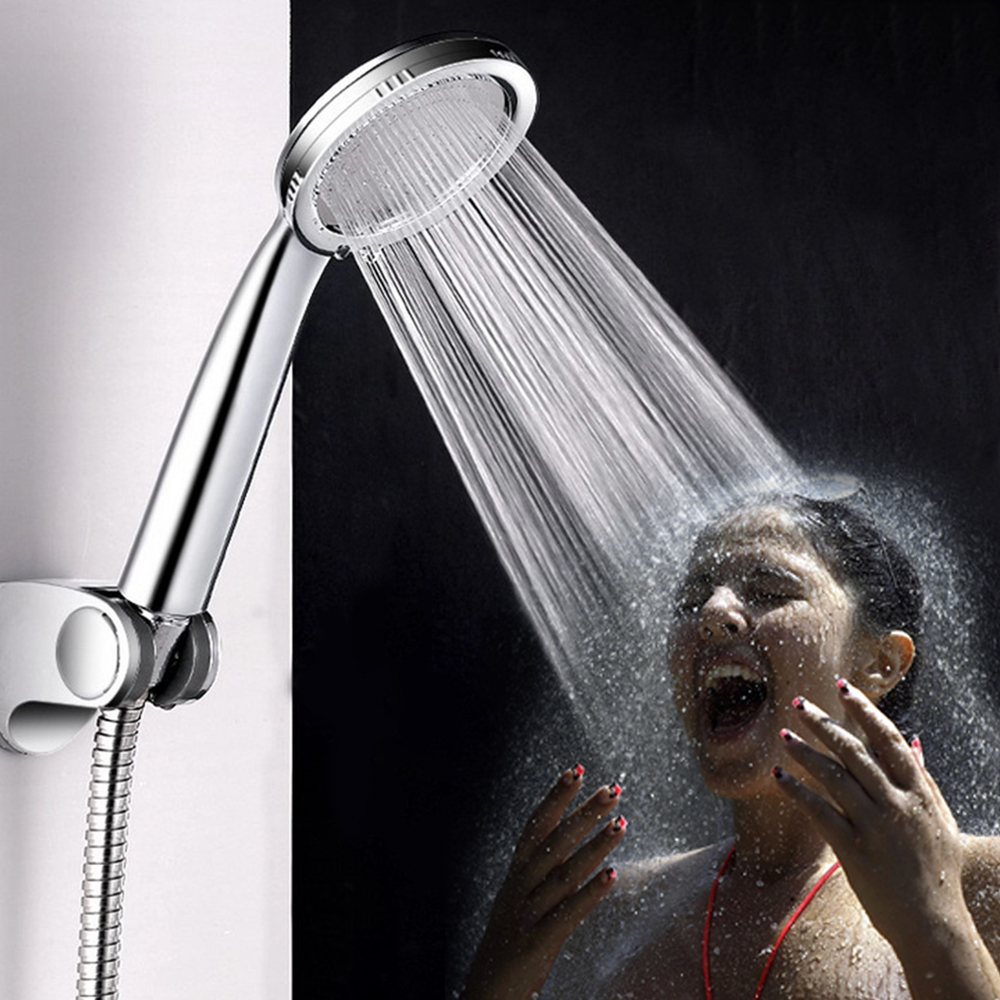 Shower Head ABS water saving showerhead filter High Pressure bath spray Rainfall Handheld Bathing Nozzle Bathroom Accessories