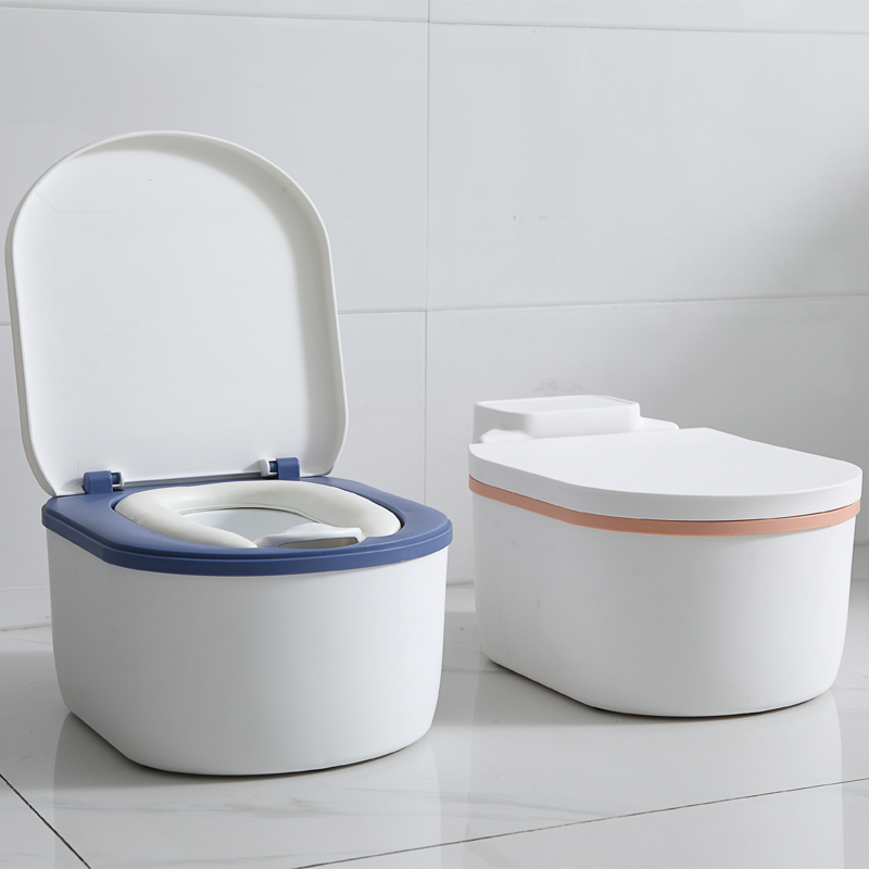 Simulation Baby Potty Training Toilet Safety Portable Travel Training Seat Toddler Potty Chair For Free Potty Brush