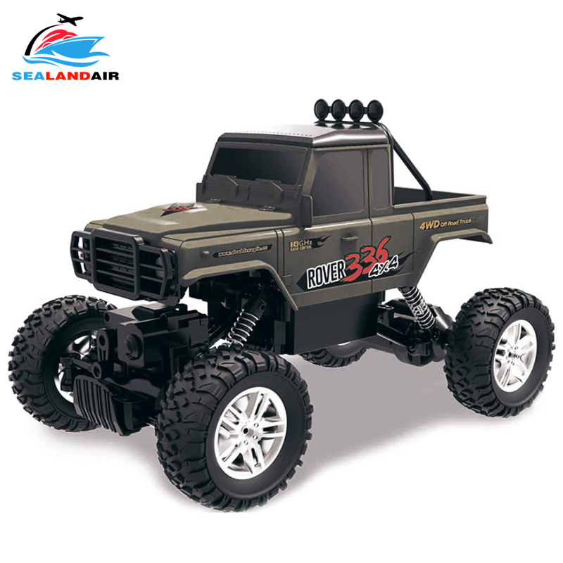 2.4Ghz 1/18 Scale 4WD RC Car Driving Car Drive Bigfoot Remote Control Cars Off Road Vehicle Toy Truck For Children Birthday Gift