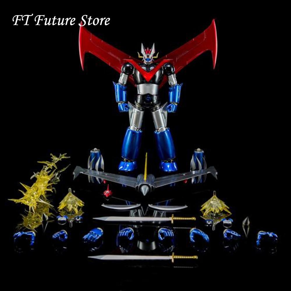 DFS066 1/9 Full Set Alloy Movable Iron Man 24cm KA MAZINGER Z No.2 Nagai Gou Figure Model For Fans Holiday Gifts