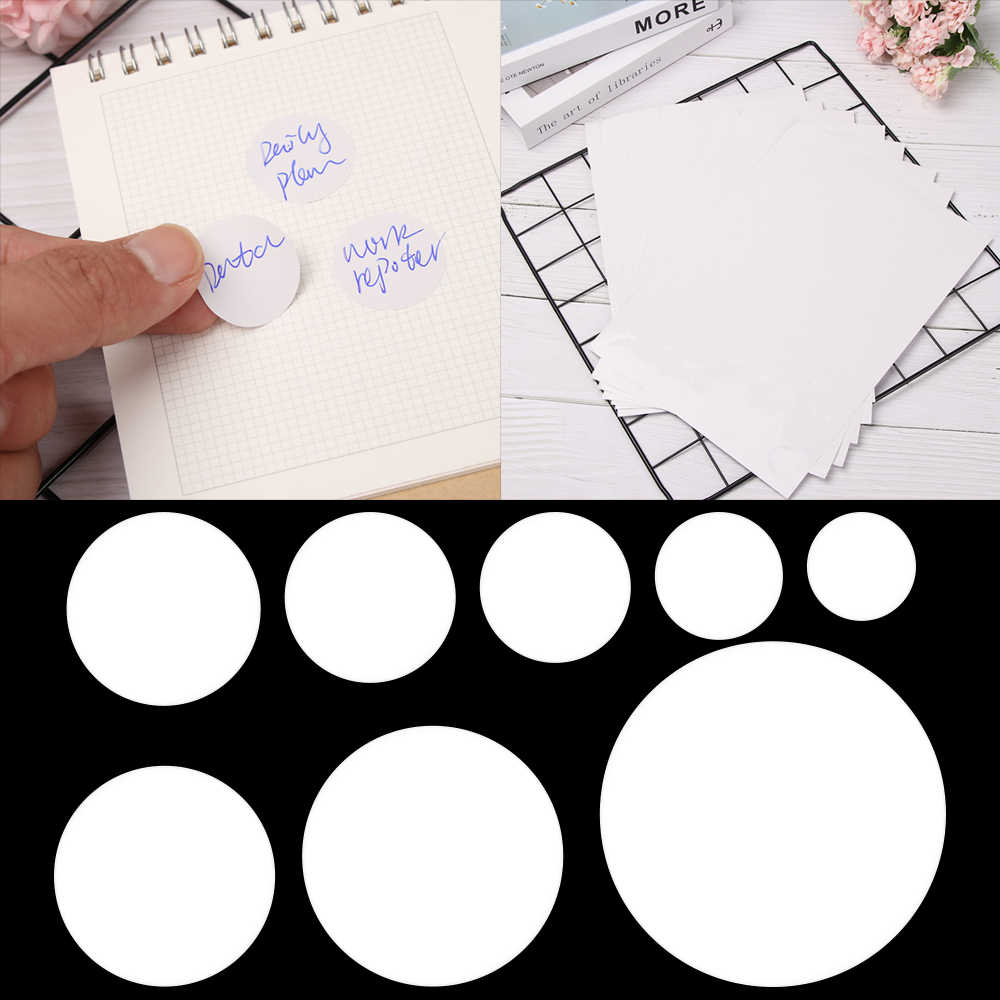 20 Sheets Adhesive Blank A4 Printer Address Labels Stickers 1 Per Sheet